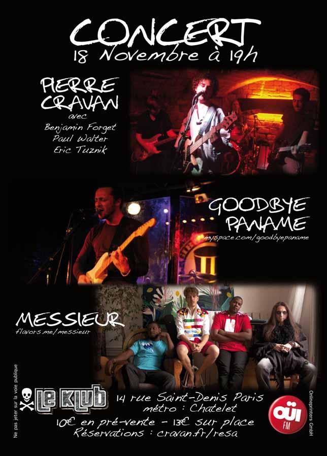Affiche 18 Novembre 2012